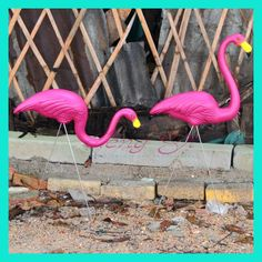 1 Pair pink plastic flamingos garden courtyard lawn decoration Wedding Party jardin landscape dressing decorated ornaments