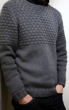 A relaxed sweater for wearing whenever, wherever.