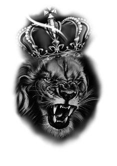 Loyalty, Lions, Black And Grey, Tattoos, Lion Of Judah, Tattoo Ideas, Animals, Tattoo Designs, Lion