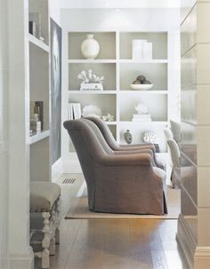 love the simplicity | shelving