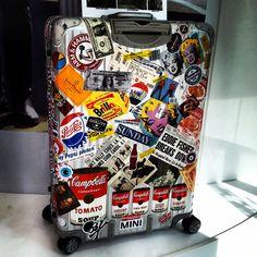 내 여행가방 리모와 (rimowa) 토파즈 (topas) 77사이즈 : 네이버 블로그
