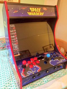 Space invaders Themed Bartop