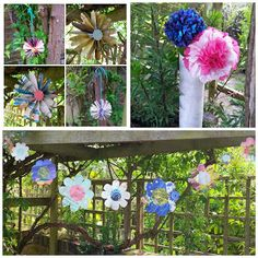 Flowery Makes Bunting, Paper Flowers, Stitch, Knitting, Plants, Projects, How To Make, Blog, Log Projects