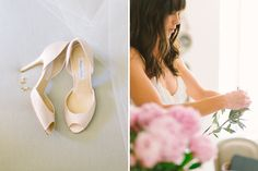 monique lhullier bridal shoes // Wedding photographer in Provence  Village Lacoste, Luberon Valley