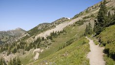 The Pacific Crest Trail below Slate Peak in the Okanogan National Forest by Matt McGrath Photography, via Flickr