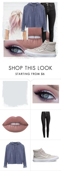 """""""Powder"""" by epiphany4 ❤ liked on Polyvore featuring Lime Crime, H&M, Miss Selfridge and Vans"""