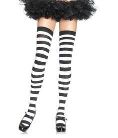 7a4cf6b8716 Leg Avenue Halloween Thigh Highs Accessories-One Size-Halloween Costume  Hosiery  Halloween