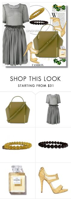 """""""Gingham Dress"""" by lila2510 ❤ liked on Polyvore featuring Molly Goddard, Christian Dior, dress and Zenstore"""