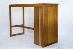 solid oak desk 105 cm blat usa push-to-open Solid Oak Desk, Solid Oak Furniture, Usa, Home Decor, Decoration Home, Room Decor, Home Interior Design, Home Decoration, U.s. States