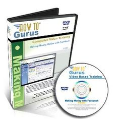 'Making Money with Facebook, Tutorial Training on DVD, 3.5 Hours in 55 Computer Video Lessons. Be a Success on Facebook. Learn How To Use Facebook to Earn Extra Income with Our Easy to Use Video Based Training' [available from How To Gurus Video Based Training @ http://astore.amazon.com/firstworld-20/detail/B006QGPIIG for $19.87 ]
