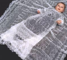 Shetland Collection - Cobweb Lace