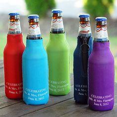 Personalized Neoprene Bottle Huggers / by PishPoshBoutique2013, $30.00