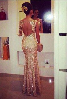 Pd258 Sexy Prom Dress,Glitter Prom Dress,Backless Prom Dress,Appliques Prom Dress