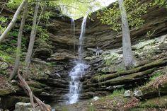 Lonesome Hollow Falls - via Exploring NW Arkansas