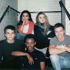 Rowan Blanchard, Sabrina Carpenter, Corey Fogelmanis, Amir Mitchell-Townes & Peyton Meyer