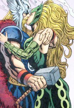 Enchantress & Thor