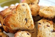Yogurt Cranberry and Tangerine Scones Recipe  - Moist scones with tangy tangerines and tart cranberries: a love-ly way to start your day!