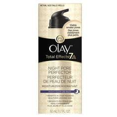 Total Effects Olay Total Effects Night Pore Perfector Moisturizer 1.7 fl oz