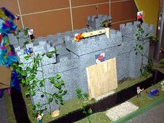 Discover recipes, home ideas, style inspiration and other ideas to try. Midevil Castle, Castle School, School Science Projects, Tapestry Of Grace, Science Models, Castle Project, Cardboard Castle, Pleasant View, Dragon Party