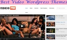 Build Video site with these awesome wordpress video themes.   Make Video blog, adult video site, funny video site Wordpress Video Theme, Video Site, Made Video, Web Design, Learning, Funny, Tips, Blog, Awesome