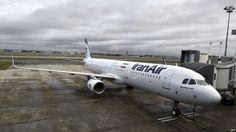 Iran formally received the first commercial plane from France's Airbus on Wednesday, Tehran Times daily reported. Aircraft Sales, Commercial Plane, Iran, News, Business, Store, Business Illustration