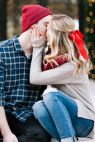 SMP Blogger Bride: Livvyland Shares How to Get the Perfect Mistletoe Photo - Style Me Pretty