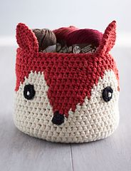Foxy Stash Basket - What does the fox say?