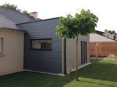 """Résultat de recherche d'images pour """"extension toit plat"""" House Extensions, Garage Doors, Images, Construction, Architecture, Outdoor Decor, Home Decor, Gardens, Yurts"""
