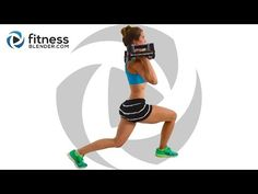 Fat Burning Butt and Thigh Workout - Strength Training Sweatfest for People Who Get Bored Easily - YouTube