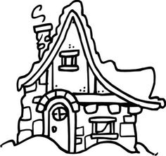 http://www.drsdesigns.com/christmas-village-slope-roof-cottage/