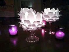 más y más manualidades: Cómo hacer pompones de papel con iluminación