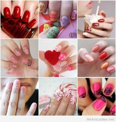Best nails art ideas for Valentine's day 2015