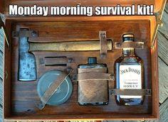 Monday Morning Survival-Kit - http://www.dravenstales.ch/monday-morning-survival-kit/