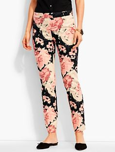 Talbots - Talbots Chatham Ankle Pant-Cascading Flowers |  |  Discover your new look at Talbots. Shop our Talbots Chatham Ankle Pant-Cascading Flowers for stylish clothing and accessories with a modern twist at Talbots