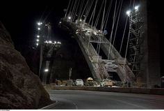 1×1 = News In Pictures – Bridge At Hoover Dam – by Jamey Stillings