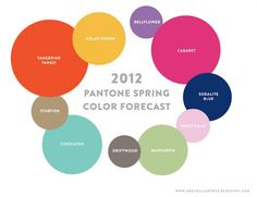 38. Winter may be here but spring color is in! Use the 2012 Pantone Spring Color Forecast to inspire the color scheme of your layout. 1pt
