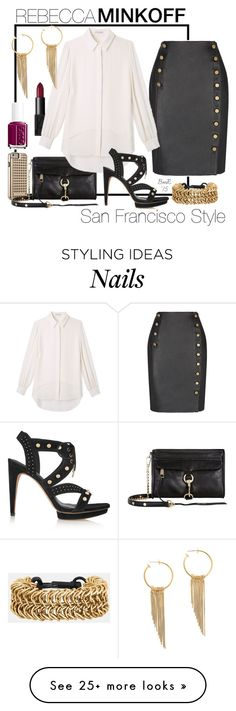"""A Class of Her Own"" by barbmama on Polyvore featuring NARS Cosmetics, Rebecca Minkoff, Essie and rebeccaminkoff"