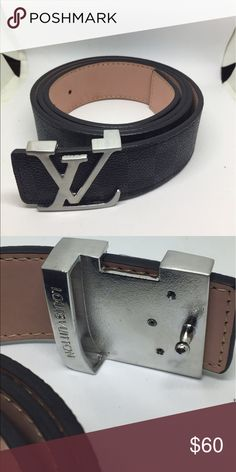 Louis Vuitton Damier Belt Comes with box and will ship immediately SIZE 34-36 inches. Louis Vuitton Accessories Belts