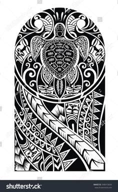 Traditional Maori tattoo design with turtle Vector Image Tattoos And Body Art maori tattoo designs Maori Tattoos, Maori Tattoo Meanings, Hawaiianisches Tattoo, Marquesan Tattoos, Samoan Tattoo, Body Art Tattoos, Tribal Arm Tattoos, Tattoo Forearm, Tatoos