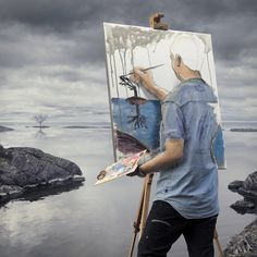 Erik Johansson — Self-actualization
