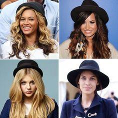 Beyonce, Demi Lovato, Chole Grace Moretz