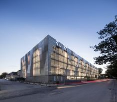 Rigshospitalet's Parking Garage, Copenhagen, 2015 - 3XN Architects
