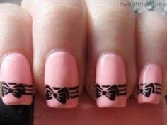Dibujos para pintar uñas   Tener salud
