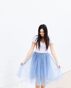 I hope my Valentine is as sweet as @brooke_katelin! 💎💎 Don't forget to use code vday20 at checkout to get a discount on your Valentine day outfit!  Tink skirt $34 ($27 after discount) White tee $26 ($20 after discount)on shopamara.com  #shopamara #valentines