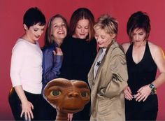 The Go-Go's with ET