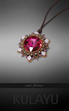 star flower necklace by Kulayu