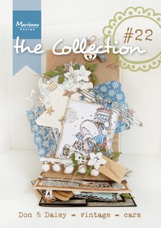 Collection #22 with many examples made with then October 2014 collection from Marianne Design