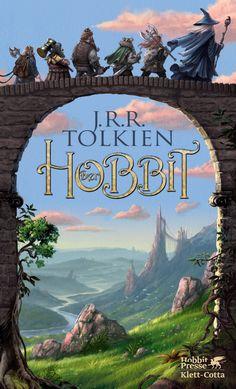 Wunderschönes Hobbit Buchcover