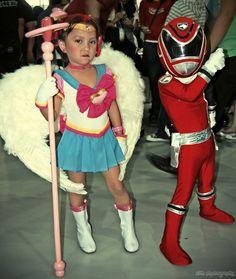 Chibi Cosplayers Attack #cosplay