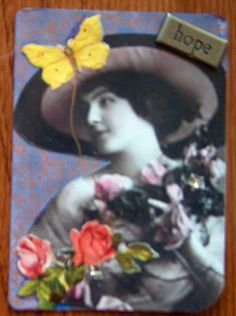 Artist Trading Card by Sandy McTier